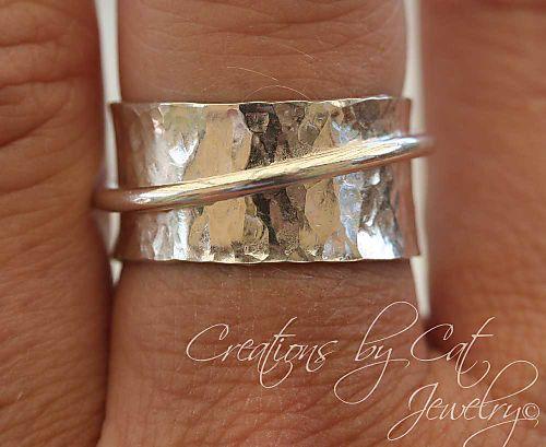 Silver Spinner Ring1